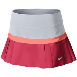 Nike Women's Woven Pleated Skirt Fusion Red